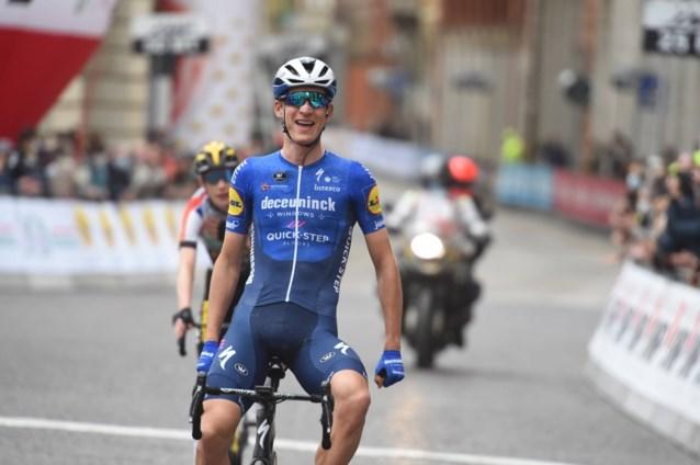 """Ritwinnaar Mikel Honoré na straf kunstje van Deceuninck-Quick-Step in Ronde van het Baskenland: """"Heel speciaal om zo te winnen"""""""