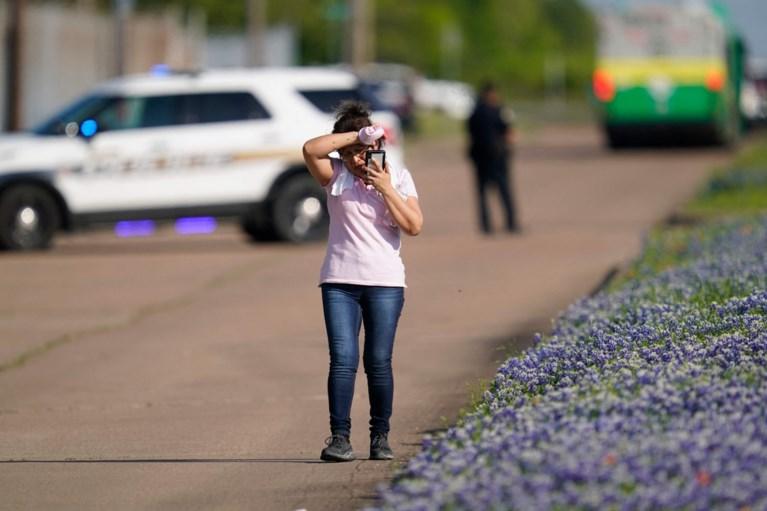 Eén dode en zes gewonden, onder wie agent, bij schietpartij in Texas