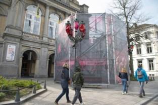 Tijdelijk paviljoen aan Stadsschouwburg vervangt afgelast URB-festival