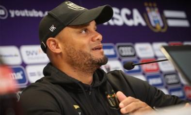 """Kompany wil bij Anderlecht vooral vechtlust zien in topper: """"We zullen zien of de kloof met Club Brugge verkleind is"""""""