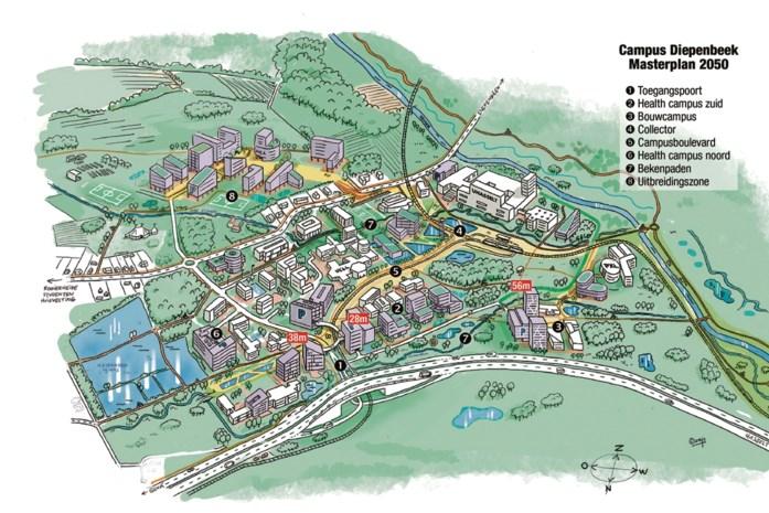 "Campus Diepenbeek krijgt indrukwekkende uitbreiding: ""Ontmoetingsplek voor iedereen"""
