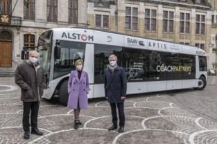 Elektrische bus uitgetest in stadscentrum