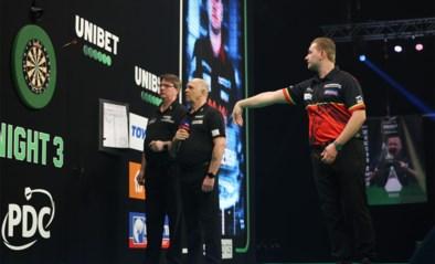 Premier League darts: Van den Bergh ongeslagen en is alleen leider