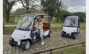 Nieuwe elektrische wagentjes rijden bloesempracht tegemoet