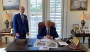 INTERACTIEF. Alsof hij nog steeds in het Witte Huis zit: alle bijzonderheden van het nieuwe kantoor van Donald Trump