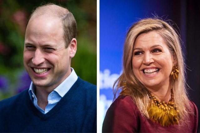 """ROYALS. Koningin Máxima deed een zelftest en """"prins William moet koningin Elizabeth II opvolgen"""""""