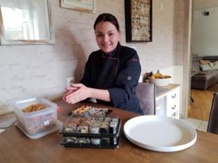 Jade (18) zag vakantiejob wegvallen en verkoopt nu sushi online