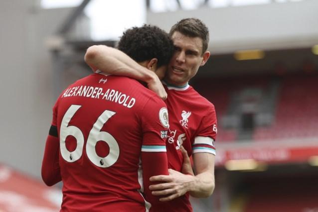 Liverpool vermijdt nieuw puntenverlies met knappe goal in extra tijd, toch weer commotie over VAR