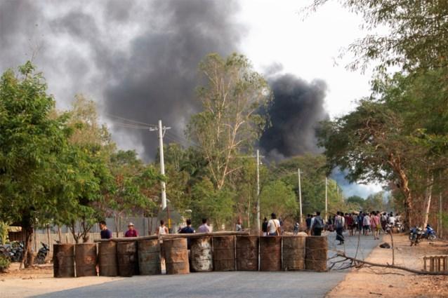 Vrees voor bloedbad in zuiden van Myanmar
