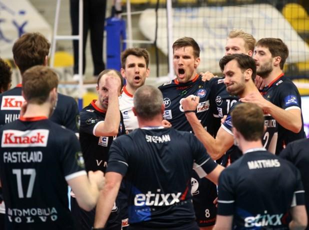 Roeselare zet ambities kracht bij en walst over Maaseik: nog één zege verwijderd van titel in volleybal