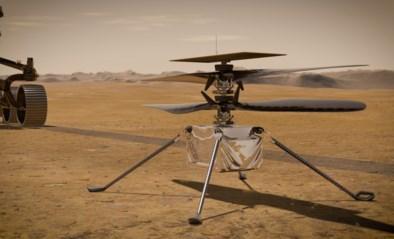 Voor het eerst bewegend beeld van Mars: NASA zit klaar voor eerste heli-vlucht op de rode planeet