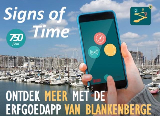 Erfgoedwandeling 'Signs of time' registreerde al meer dan zevenhonderd gebruikers