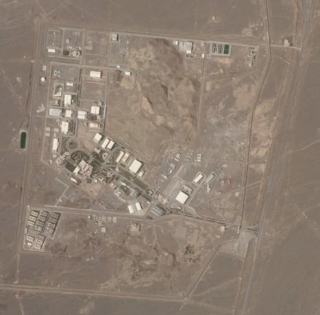 """""""Incident"""" op nucleaire site waar Iran uranium verrijkt"""