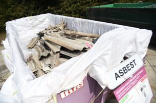 Onbekenden laten asbestplaten achter aan provinciaal domein 't Veld