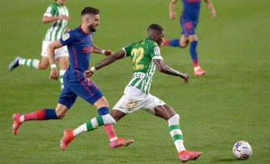 Yannick Carrasco helpt Atlético Madrid met eerste goal van 2021 mee aan gelijkspel tegen Real Betis