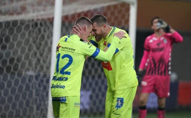 Met dank aan de blitzstart en Bezus: AA Gent mag nog steeds dromen van Play-off 2 na ruime 4-0-zege tegen Charleroi