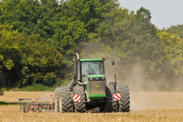 Jonge boeren voeren deze week actie met tractoren, elke dag in een nieuwe provincie