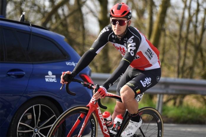 """Jasper De Buyst ziet plannen in duigen vallen: """"Ik ga nu ritme opdoen in de Ronde van Valencia"""""""