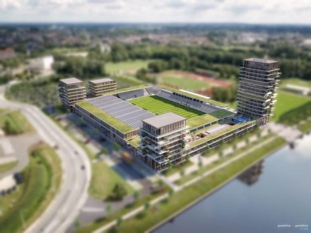 Stad start nieuwe procedure om vergunning te verlenen voor bouw voetbalstadion KMSK