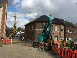 Kruispunt Stoopkensstraat/Kauterhof afgesloten