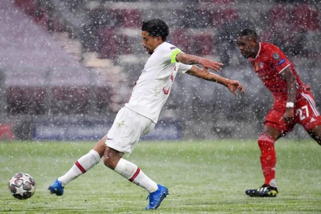 PSG kan niet rekenen op Marquinhos, terwijl Verratti en Florenzi onzeker zijn voor duel met Bayern Munchen