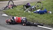 """Trainingsmakkers Vanhoof en Frison likken hun wonden na zware val aan 60 km/u: """"Even mottig en groggy"""""""