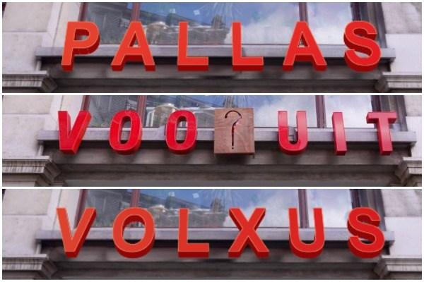 """Pallas of Volxus? """"Paleis in het Gents spreek je uit als pallaas, niet als pallas"""""""
