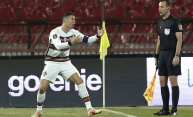 Afgekeurd doelpunt van Cristiano Ronaldo kost Nederlandse lijnrechter het EK