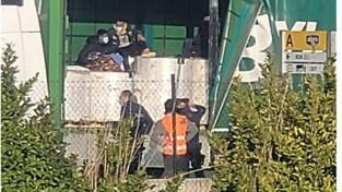 Vier vluchtelingen ontdekt in vrachtwagen op site Alpro