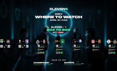 Zondag zeven matchen tegelijk, maar enkel bij Proximus zal alles ook integraal op tv te zien zijn