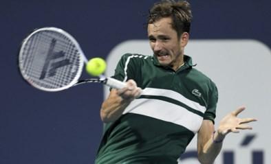 Daniil Medvedev geeft in extremis forfait voor toernooi in Monte Carlo na positieve coronatest