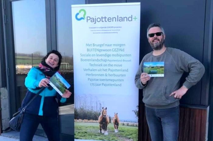 Pajottenland  lanceert nieuw wandel- en fietsboekje