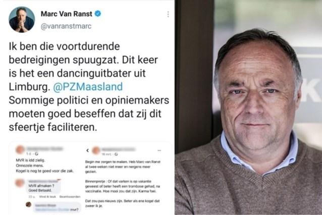 Dancinguitbater uit Dilsen-Stokkem verhoord voor bedreigen Marc Van Ranst: verder onderzoek nodig