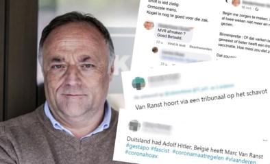 """""""Een kogel is nog te goed voor die zak"""": Marc Van Ranst is de maandenlange bedreigingen spuugzat"""
