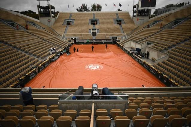 Officieel: Roland Garros wordt weekje uitgesteld