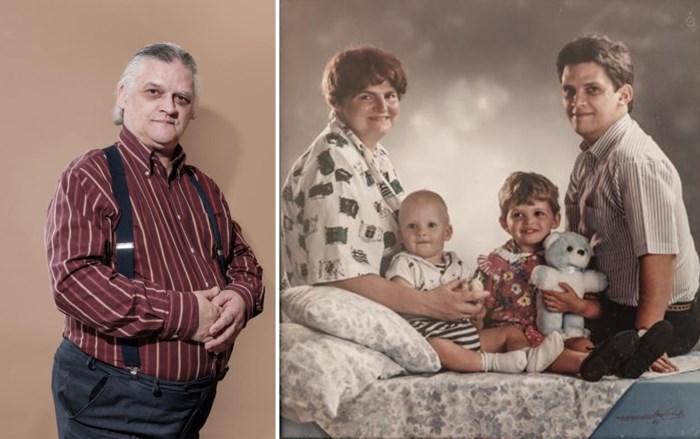 """Peter (59) verloor zijn vrouw en zoon, maar vond troost in oude hobby: """"Ik weet dat er lacherig over wordt gedaan"""""""