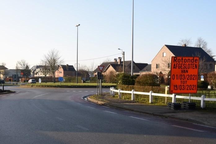 Rotonde Braamstraat opnieuw afgesloten