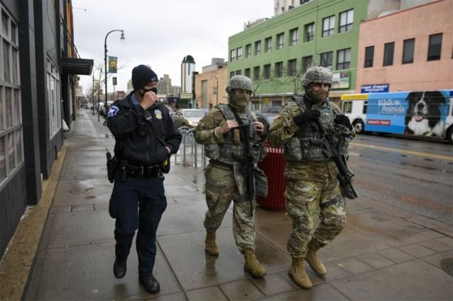 Avondklok in Minneapolis na dood zwarte jongeman