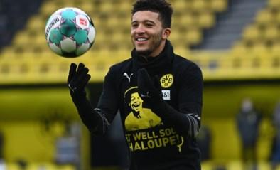Jadon Sancho haalt Europese clash met Manchester City niet, ook Reus en Hummels zijn twijfelgevallen bij Dortmund