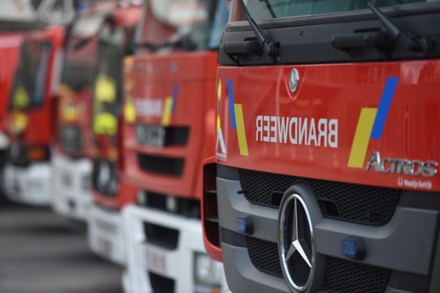 Brusselse brandweer redt drie mensen uit brandend gebouw