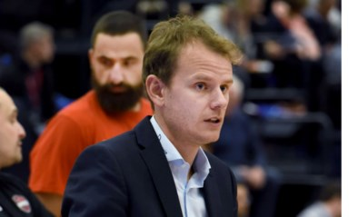 Kristof Michiels coach van Kangoeroes Mechelen