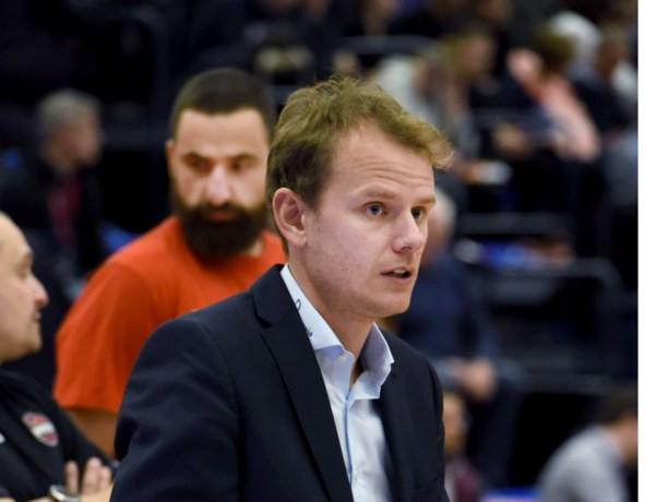 Kristof Michiels coach van Kangoeroes Mechelen