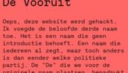 Hacker voegt derde keuze toe voor naam van Kunstencentrum Vooruit: 'De Vooruit'