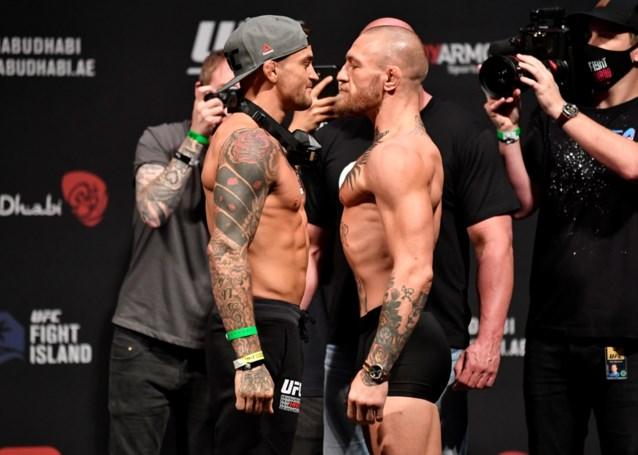 """Conor McGregor slaat wild om zich heen na uitspraak van Dustin Poirier: """"Het gevecht gaat niet door, hersendode hillbilly"""""""