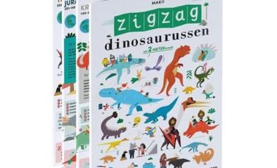 RECENSIE: 'Zigzag dinosaurussen' van Makii: Ontdekken was nooit leuker *****