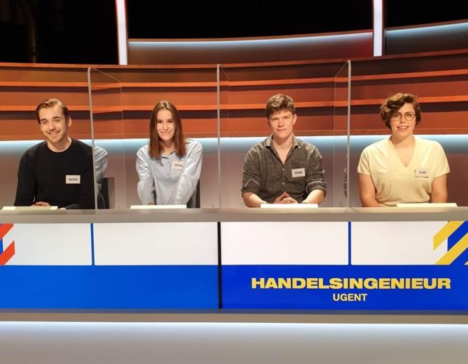 Deze zeven studententeams proberen de Gentse quizreputatie hoog te houden bij Otto-Jan Ham