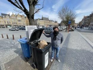 """Ieper verhoogt strijd tegen afvalberg takeaway met extra vuilnisbakken, netheidsploeg en GAS-boetes: """"Het was dweilen met de kraan open"""""""