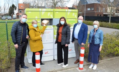 Eerste pakjesautomaten 'nieuwe stijl' voor Stabroek en Kapellen