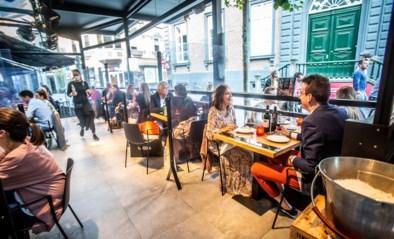 Zo wil de horeca heropenen in mei: enkel terrassen, 'bubbel +1' aan tafel