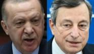 """Turkse president Erdogan hekelt """"vulgariteit"""" van Italiaanse collega Draghi: """"Dit individu brengt slag toe aan onze betrekkingen"""""""